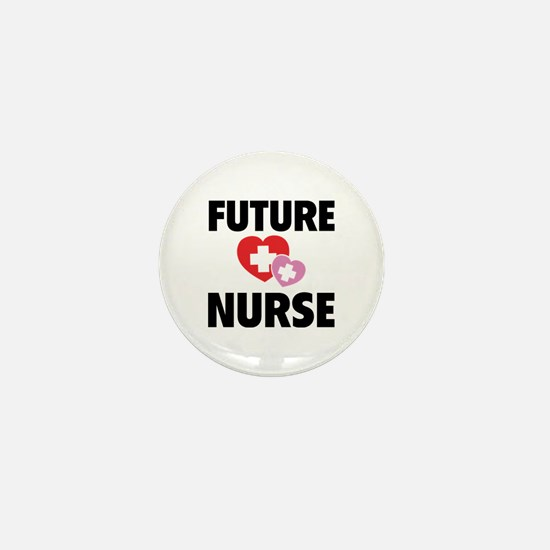 Future Nurse Mini Button