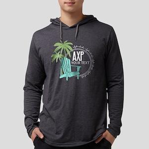 Alpha Chi Rho Palm Chair Mens Hooded Shirt
