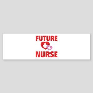 Future Nurse Sticker (Bumper)