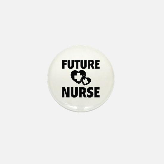 Future Nurse Mini Button