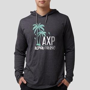 Alpha Chi Rho Palm Tree Mens Hooded Shirt