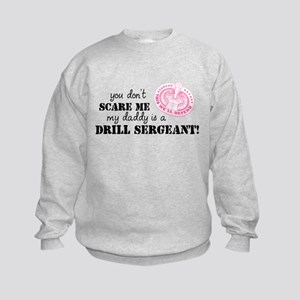 My Daddy is a Drill Sergeant Kids Sweatshirt