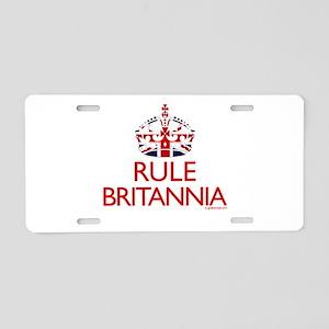 Rule Britannia Aluminum License Plate