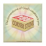 ACIM Keepsake Tile Coaster - Cornerstone