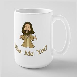 Jesus Christ - Miss Me Yet Large Mug