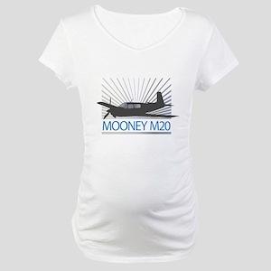 Aircraft Mooney M20 Maternity T-Shirt