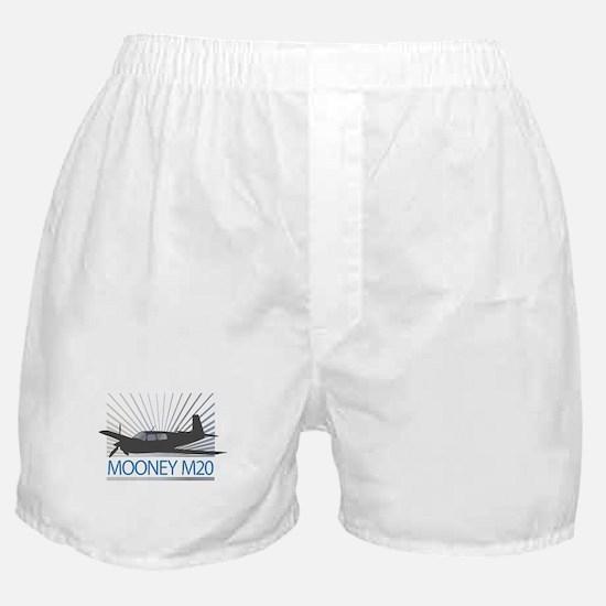 Aircraft Mooney M20 Boxer Shorts