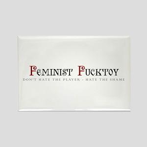 Feminist Fucktoy Rectangle Magnet