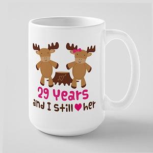 29th Anniversary Moose Mugs