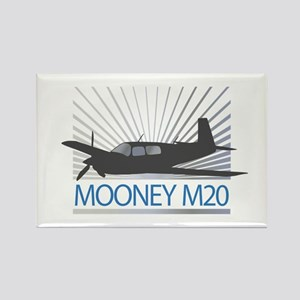 Aircraft Mooney M20 Rectangle Magnet