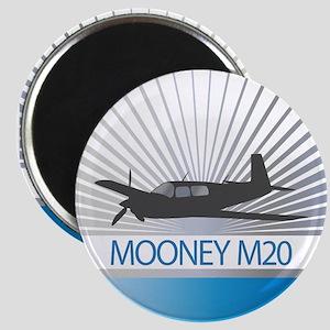 Aircraft Mooney M20 Magnet
