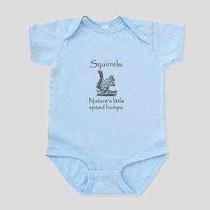 Squirrel Speed Bump Infant Bodysuit