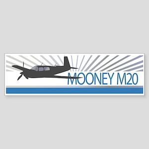 Aircraft Mooney M20 Sticker (Bumper)