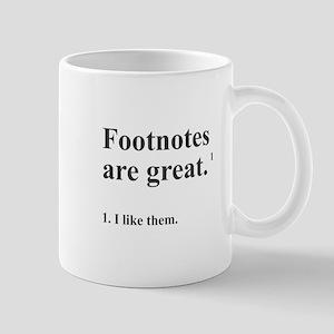 Footnotes Mug