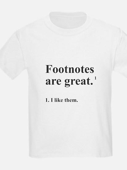Footnotes T-Shirt