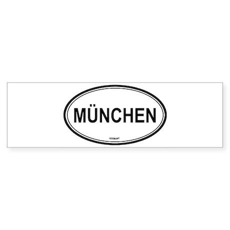 München, Germany euro Bumper Sticker