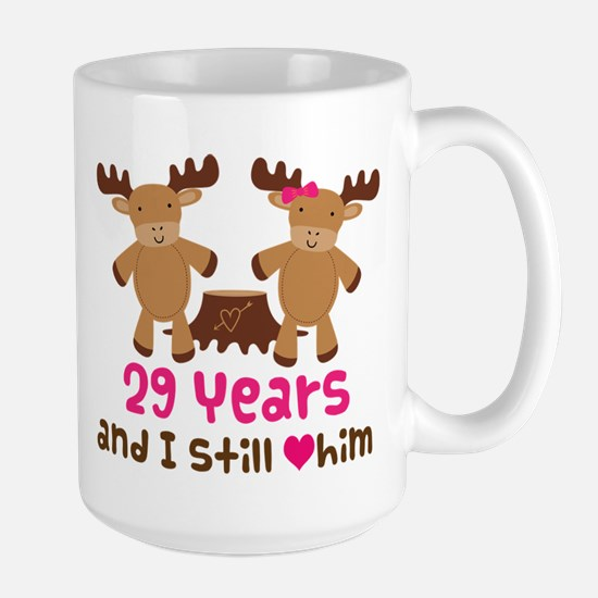 29th Anniversary Moose Mugs