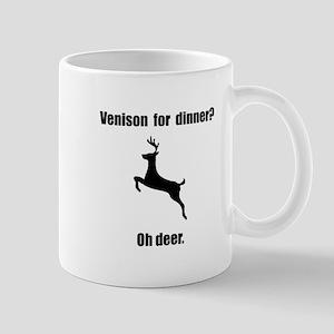 Venison Deer Pun Mug