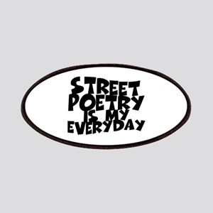 Street Poetry Is My Everyday Patches