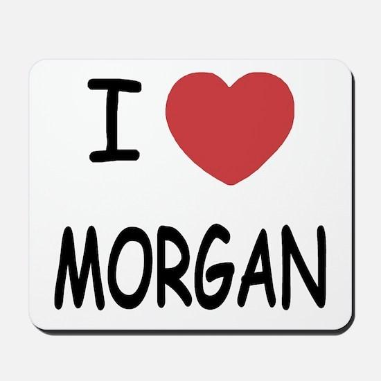I heart Morgan Mousepad