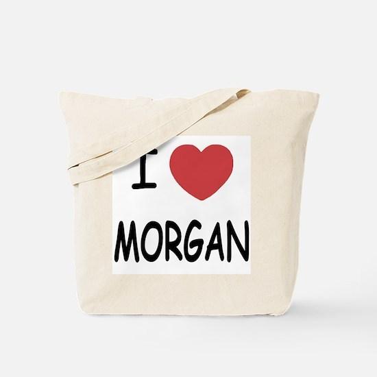 I heart Morgan Tote Bag