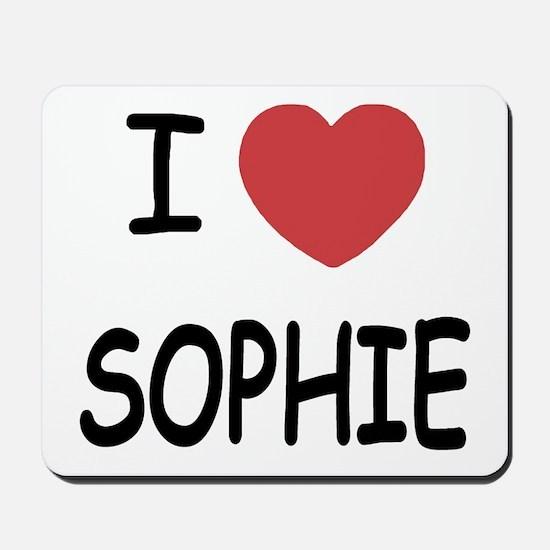 I heart Sophie Mousepad