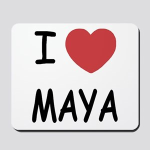 I heart Maya Mousepad