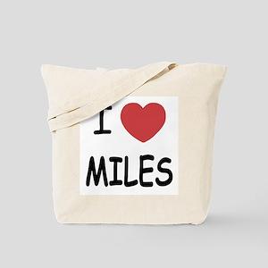 I heart miles Tote Bag