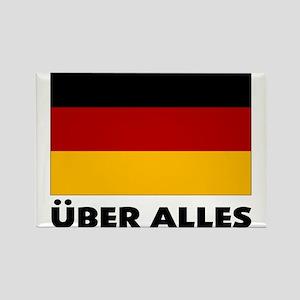 Deutschland, Deutschland Über Rectangle Magnet