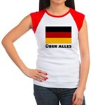 Deutschland, Deutschland Über Women's Cap Sleeve T