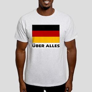 Deutschland, Deutschland Über Ash Grey T-Shirt