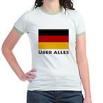 Deutschland, Deutschland Über Jr. Ringer T-Shirt