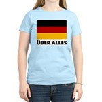Deutschland, Deutschland Über Women's Pink T-Shirt
