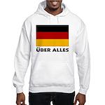 Deutschland, Deutschland Über Hooded Sweatshirt
