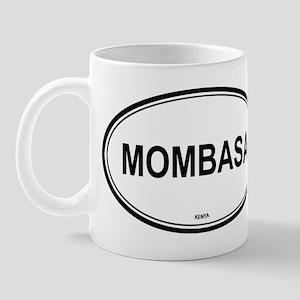 Mombasa, Kenya euro Mug