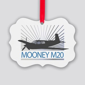 Aircraft Mooney M20 Picture Ornament