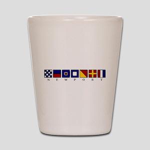 Nautical Newport Shot Glass