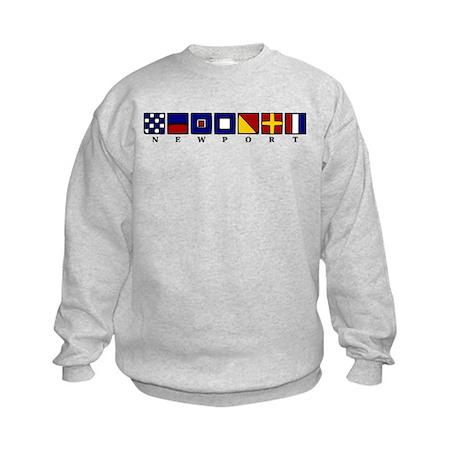 Nautical Newport Kids Sweatshirt