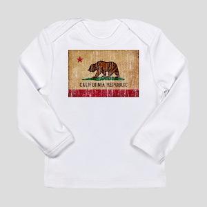 California Flag Long Sleeve Infant T-Shirt