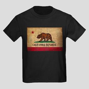 California Flag Kids Dark T-Shirt