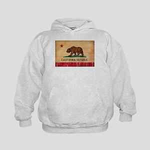 California Flag Kids Hoodie