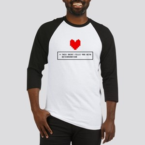 Shirt Determination - Blk Baseball Jersey