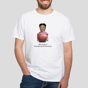 Kim Jong Il White T-Shirt