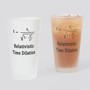 Relativistic Time Dilation Drinking Glass