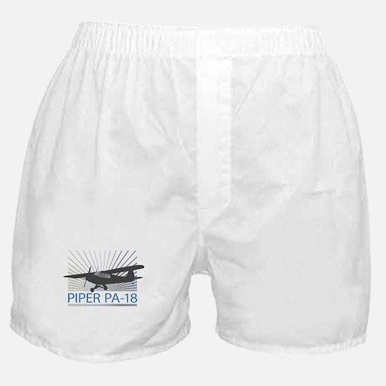Aircraft Piper PA-18 Boxer Shorts
