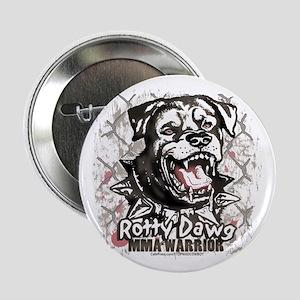 Rotty Dawg MMA Warrior Button