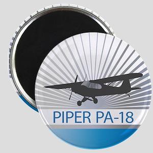 Aircraft Piper PA-18 Magnet