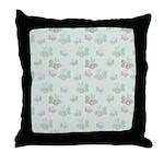 Cute Little Butterflies Throw Pillow