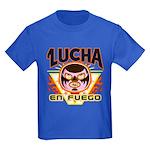 Lucha En Fuego Kids T-Shirt