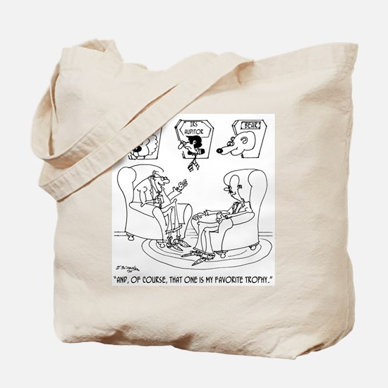 The Taxidermist The IRS Tote Bag